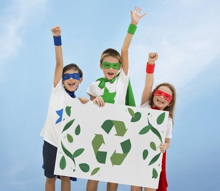 Recycle Nature World Icon Grapphic Stock Photo
