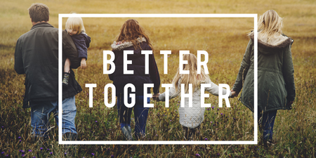 Together We Can Connection Friendship Stock Photo - 80340153