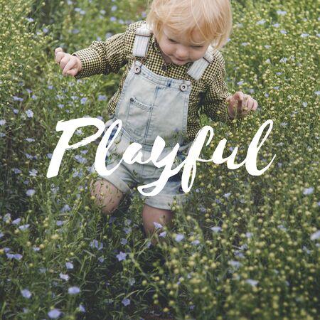 Innocence Adorable Playful Curiosty Pure Word