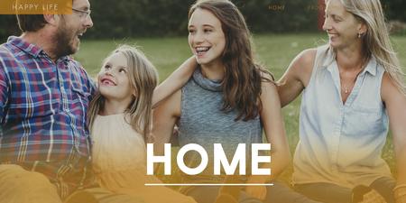 가족 행복의 동반자 본딩 아이콘