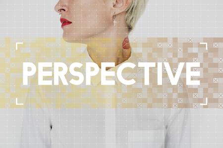 インスピレーションの視点ワードが白人女性