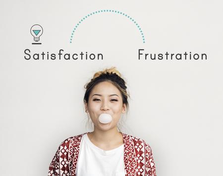 Antonym avant la relaxation de relaxation frustration frustration Banque d'images - 80353162
