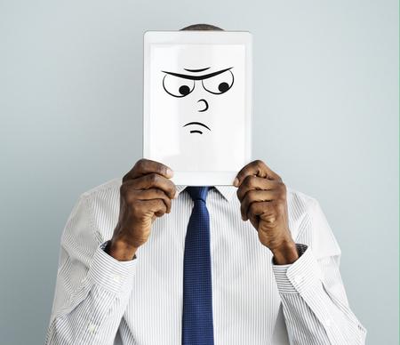 顔の表情の感情感情を描画 写真素材 - 80429430