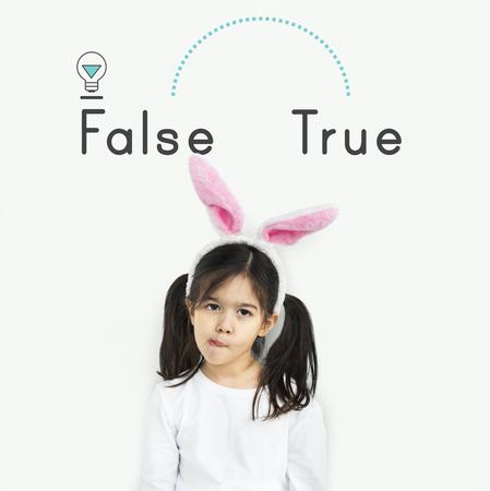 反意語 True False 適切不適切な成功失敗の反対 写真素材