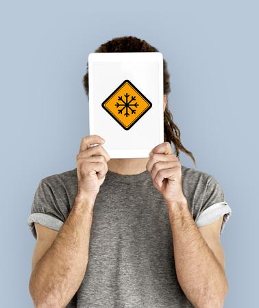 스노우 플레이크 콜드 경고 신호
