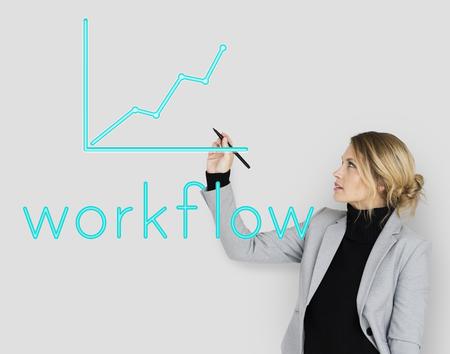 業務改善には、良い戦略が必要。 写真素材