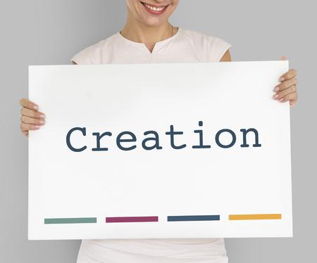 個性のアイデンティティの創造的なデザインの作成