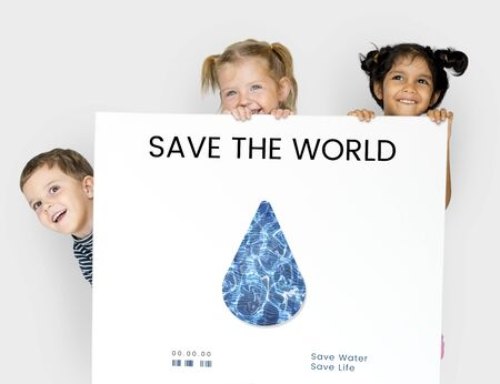 child care: Save the Planet Sustainable Ecology Concept