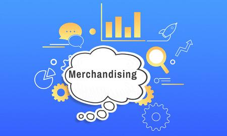 Business Strategy Management Merchandising Illustration Stock Photo