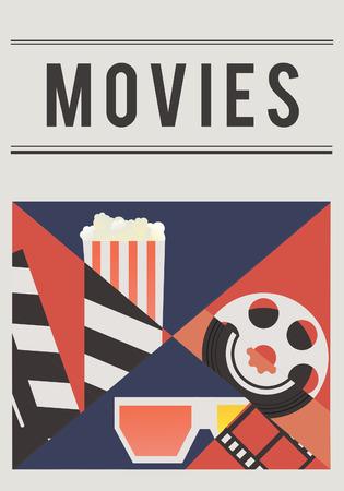 映画劇場メディア エンターテイメントの図