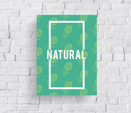 Natural Vitality Reviving Graphic Design Word Banco de Imagens