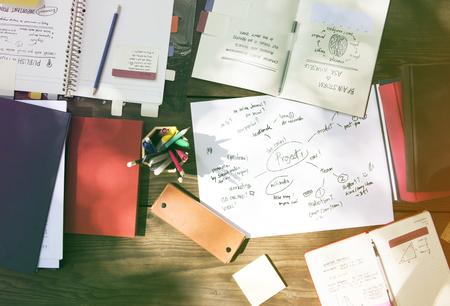 Werkruimte Project Planning Werktafel