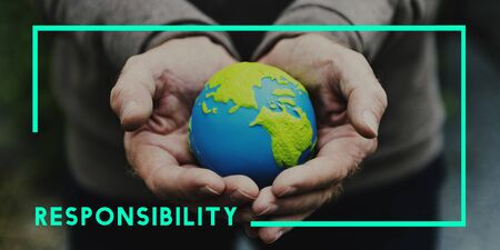 conservative: Go Green Responsibility Sustainable Concept