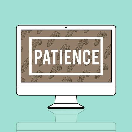 Uithoudingsvertrouwen Geduld Volharding Positief
