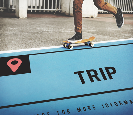 global positioning: Travel is about destination location and direction. Stock Photo