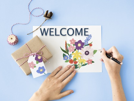 Celebration Congratulation Welcome Appreciation Greetings Stock Photo