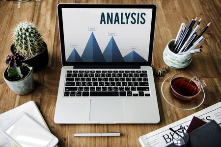 Analysis Strategy Study Information Business Planning Stock fotó