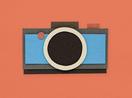 디지털 카메라 촬영 사진 아이콘 스톡 콘텐츠 - 80354607