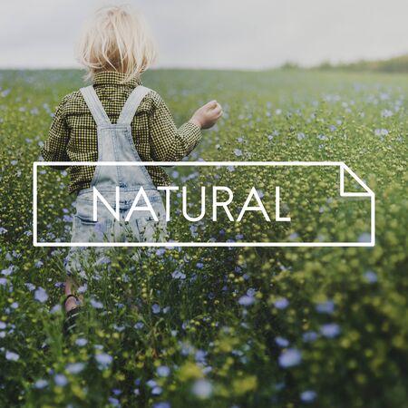 Geluk Kindertijd Natuurlijke Frisse Luchtomgeving