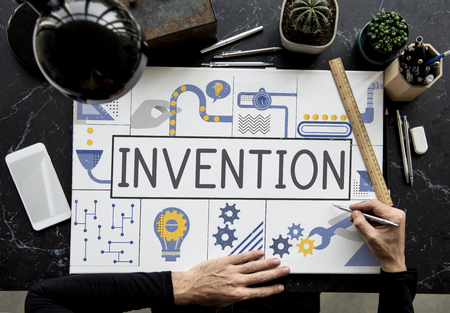 Manufacture Production Industry Ideas Concept Stock Photo