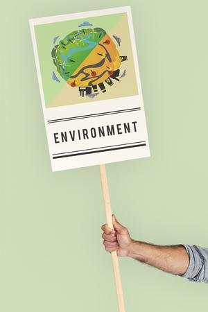 Bewaar wereld planeet aarde concept Stockfoto
