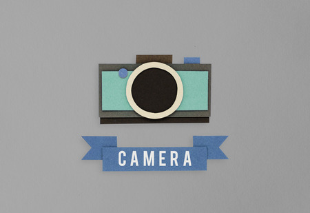 Illustration of camera photography collect memories Фото со стока - 80376557