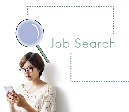 Recruitment Job Occupation Search Concept