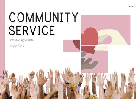 Donation Community Service Volunteer Support