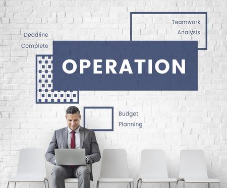 Strategy and plan is help business development 免版税图像