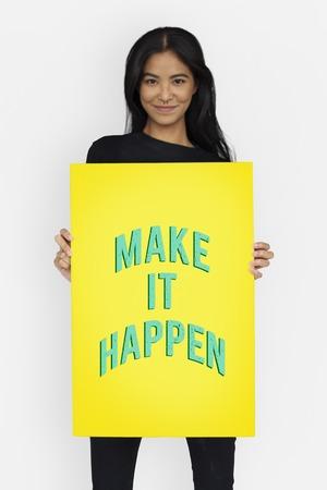 Attitude Life Motivation Inspire Achievement Stock Photo
