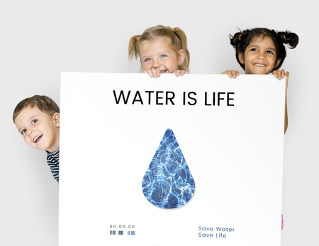 multiethnic: Water Recycling Conservation Droplet Concept