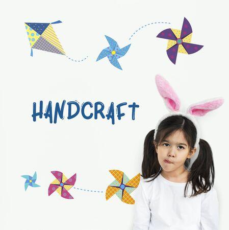 Kindheit Freizeit Hobby Phantasie Konzept Standard-Bild - 80378823