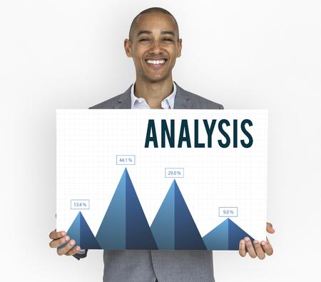Analysis Business Summary Graph Result Graphic 版權商用圖片