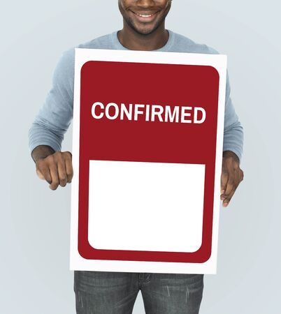 selected: Original Premium Guaranteed Quality Banner Graphic Stock Photo