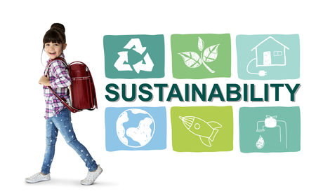 Sustainability Ecology Save Environment Concept Stok Fotoğraf