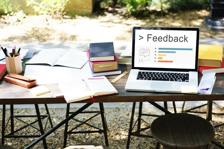 Feedback Response Suggestions Advice Evaluation Stok Fotoğraf - 80529020
