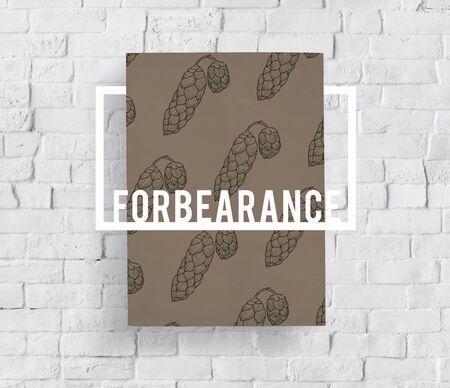 Satisfied Spirit Tolerance Forbearance Mood Banco de Imagens - 80548146
