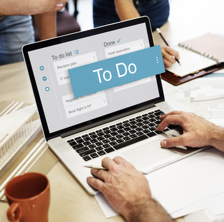 roster: Digital Business To do List App Interface