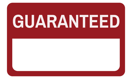 Original Premium Guaranteed Quality Banner Graphic Stock Photo