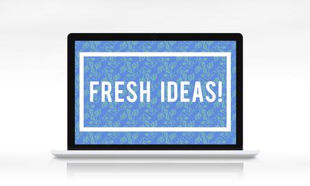 Fresh Ideas Imaginative Be Creative Stock Photo - 80547385