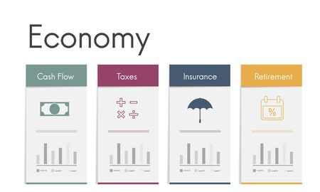 Accounting Trade Economy Financial Icon