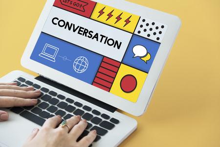 cultivate: Conversation Communication Interaction Socialize Concept