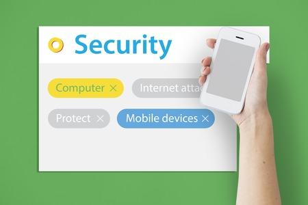 セキュリティ コンピューターのモバイル デバイスを保護します。