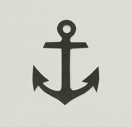 앵커 해양 모험 기호 기호 아이콘 스톡 콘텐츠