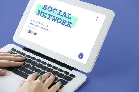 사회 대화 공유 온라인 커뮤니케이션 그래픽 스톡 콘텐츠