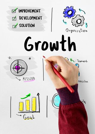 New Business Market Venture Expansion Growth Фото со стока - 80555490