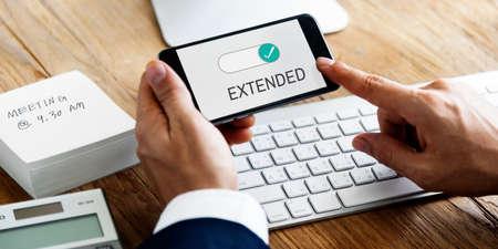 Extended Allowance Authority Permission Permit Stok Fotoğraf - 80580175