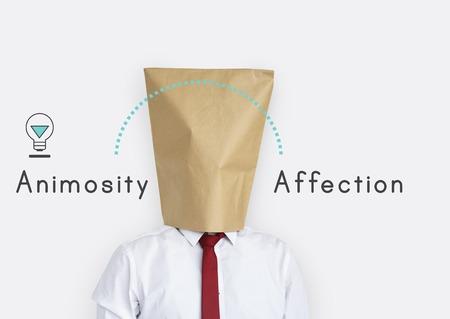 Antonym Opposite Happy Sad Fondness Hatred Animosity Affection