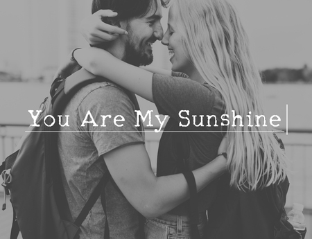 Liefde om met je te zijn Romance samenhorigheid kostbaar moment