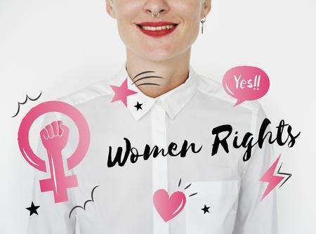 여성 평등 신뢰 여성들의 권리